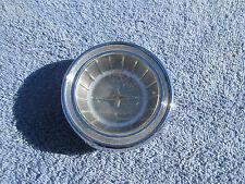 1962 63 PONTIAC STEERING WHEEL HORN CAP CHROME TRIM INTERIOR