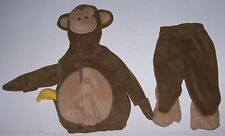 OLD NAVY BABY MONKEY 2 PC COSTUME 6-12 Mo Halloween