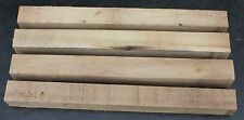 """Four 3 X 3 (nominal) X 31"""" Poplar Blanks for Turning or Tapering Table Legs"""