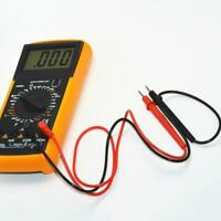 Digital Multimeter Clip Leads Voltmeter Probe Test Cable Pen Terminating Wi A6G5