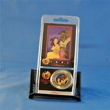The Disney Decades Coin 1991 Beauty and the Beast #14 Factory Sealed