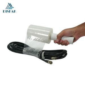 "2 Pack - Ultra Strength Mini Stretch Wrap Film 80 Gauge, 5"" width x 1000 ft long"