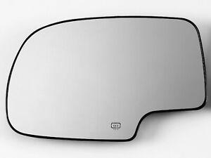 For 2000-2006 TAHOE YUKON SUBURBAN ESCALADE Mirror Glass Heated Driver Left Side