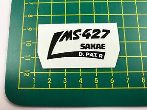old school bmx decals stickers ms-427 sakae stem black on clear