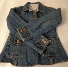 Little Girls size small Tommy Hilfiger jacket blazer pre-owned buttons