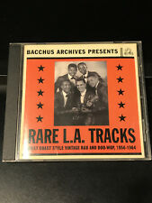Various Artists-Rare L.A. Tracks-CD-VG Condition-Bacchus Archives Records