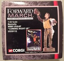 Corgi 1:32 Recruits WWII USAAF Coming Right Up US59112