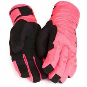 Rapha deep winter hi viz pink cycling gloves new with tags large fitness unisex