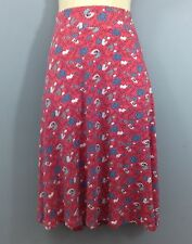 Viscose Floral Tall Casual Skirts for Women