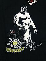 NWT Vintage WWE WWF Wrestling Rey Mysterio T Shirt Tee Mens Size Medium W TAGS