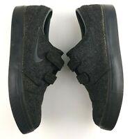 Nike Men's Size 8.5 Stefan Janoski Wool Shoes - Cork Insole Anthracite Black #92