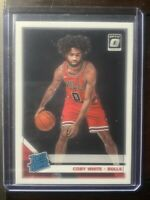 2019-20 Panini Donruss Optic Coby White RC Bulls Rated Rookie #180 Rookie Card