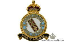 Kings Crown: Royal Air Force 342 (French) Squadron Unit RAF Lapel Badge
