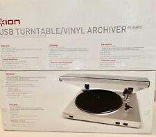 ION Ttusb05xl Model USB Turntable Record Archiver