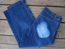 WOMENS APPLE BOTTOMS FRESH PICKED DAILY CAPRIS JEANS SIZE 9  31x21