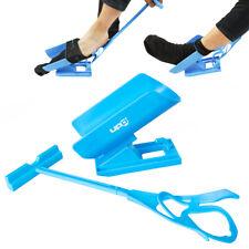 UPP Socken Anziehhilfe 3in1 Schuhlöffel Strumpfanziehhilfe Sockenanzieher Helfer