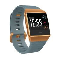 Fitbit Ionic Bluetooth GPS Tracker - Blue / Orange - Small & Large - FB503CPBU