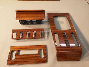 Mercedes Benz Wood Trim Basic set for W123 Dashboard C123 Zebrano