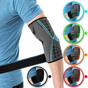 Hochwertige Ellenbogenbandage von COLOMAX Tennisarm Stütze Sport Fitness Bandage