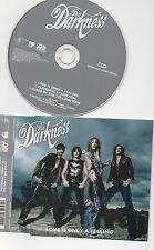 THE DARKNESS RARE CD LOVE IS ONLY A FEELING