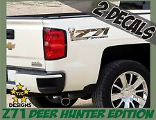 Z71 Offroad Decals (Set) OAK CAMOUFLAGE for Chevrolet Silverado Deer Hunting