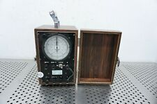 VINTAGE STANDARD ELECTRIC CO. TIMER PG & E IN WOODEN CASE