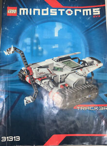 LEGO MINDSTORMS EV3 Tracker 31313 Only Instructions Manual Book Legos Booklet