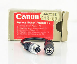 Canon Remote Switch Adapter T3