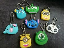 Character Key Covers - Monsters Inc Sully, Panda, Toy Story Alien, Minions, Gift