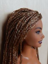 Mattel Barbie Puppe  Fashionistas mit Rasterlocken nude  NEU