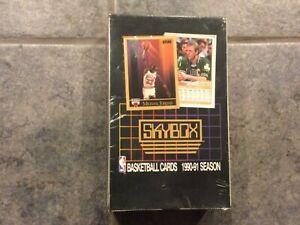 1990-91 SKYBOX FACTORY SEALED BASKETBALL BOX POSSIBLE PSA 10 MICHAEL JORDAN 🔥
