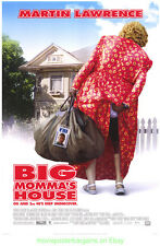 BIG MOMMA'S HOUSE MOVIE POSTER Original DS 27x40 MARTIN LAWRENCE 2000