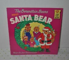 The Berenstain Bears Meet Santa Bear Stan & Jan Berenstain
