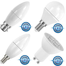 QUALITY - A+ RATED - ENERGY SAVING LED LIGHT BULBS LAMPS - ALL SIZES & FITTINGS