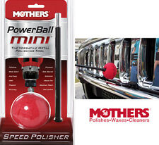 MOTHERS POWERBALL MINI POWER BALL METAL POLISHING PERFECT FOR CARS+BOATS+BIKES++