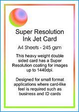 Carta INKJET Photo Matt CARD 245gsm 10 FOGLI A4