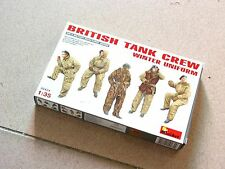 "MiniArt 1/35 #35121 British Tank Crew ""Winter Uniform"""