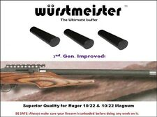 Custom Made Recoil Buffers (4) For Ruger 10/22 & Magnum - Improved! - set of 4