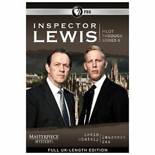 Masterpiece Mystery: Inspector Lewis - Pilot Through Series 6 (DVD, 2013, 14-Di…