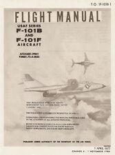 Mc.DONNELL F-101B & F-101F VOODOO - T.O. 1F-101B-1