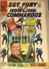 SGT. FURY 41 F- SERGEANT 1963 & HIS HOWLING COMMANDOS NICK AGENT OF SHIELD