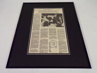 New York Times Oct 22 1980 Framed 16x20 Sports Page Poster Phillies World Series