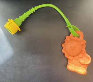 Evenflo Mega Circus Exersaucer Rubber Lion Activity Toy Teether Replacement Part