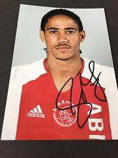 STEVEN PIENAAR Ajax Amsterdam In-person signed  Foto 10 x 15 Autogramm