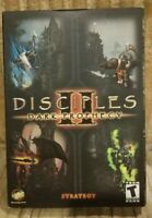 Rare Factory Sealed New - Disciples 2 II Dark Prophecy PC Collectors Video Game