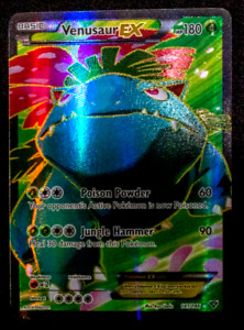 2014 Pokemon Card Venusaur EX 141/146 Full Art Rare XY NM