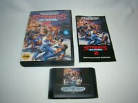 Sega Genesis Streets of Rage 2 game cartridge complete w/ case & manual, tested