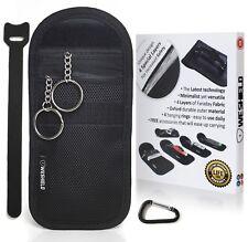 WESHIELD Lifetime AntiTheft Keyless Vehicle Anti Radiation Key Fob Faraday Bag