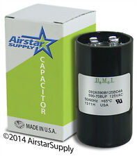 590-708 uF x 110/125 VAC • BMI Motor Start Capacitor # 092A590B125AD4A • USA