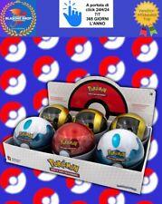 Pokemon 6 Tins Poke Ball 2020 Italiano Carte Espositore Box Collezione ITA 🤩🤩